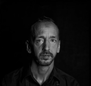Black and white portrait of John Jasperse
